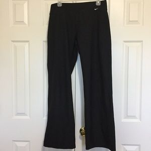 Nike Pants Large (12-14) Black Athletic Yoga Run